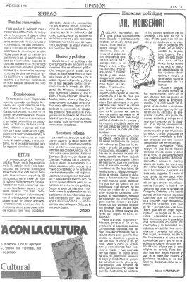 Una dura crítica al obispo Setién por su tardanza para pedir el fin de ETA