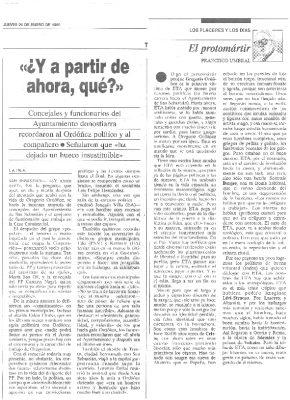 """Gregorio Ordóñez, """"el promártir"""""""