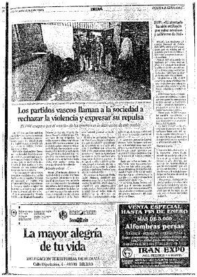 """Ordóñez afirma que """"los hermanos mayores de HB se dedican a asesinar"""""""