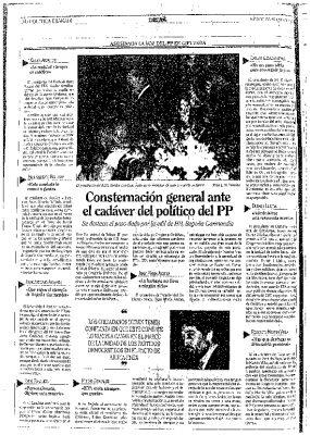 Consternación en la capilla ardiente de Gregorio Ordóñeaz