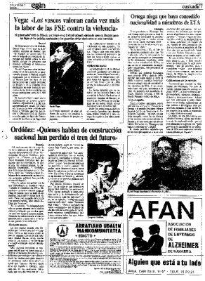 """Ordóñez: """"El horizonte del nacionalismo vasco es tan oscuro como su pasado"""""""