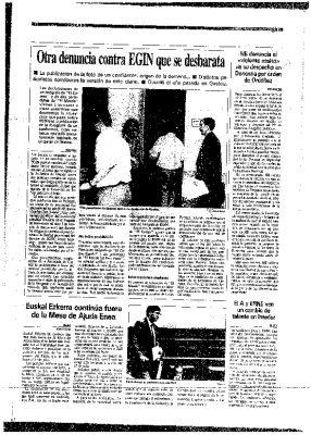 """HB acusa a Ordóñez de ordenar el """"violento asalto"""" de su despacho"""