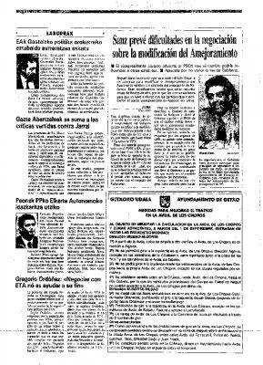 Ordóñez niega que negociar con ETA contribuya a su fin