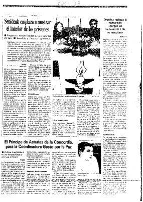 """Ordóñez afirma que dar facilidades a los terroristas no supone """"un avance hacia la paz"""""""