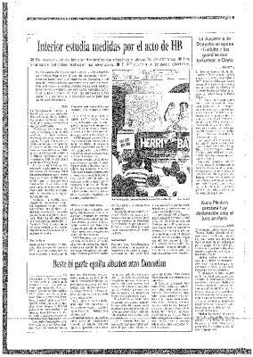 """Egin acusa a Ordóñez de """"amenazar"""" a los radicales"""
