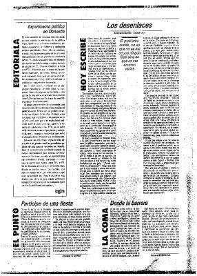 """Egin critica el """"sesgo antiterrorista"""" de la """"campaña"""" de Gregorio Ordóñez"""