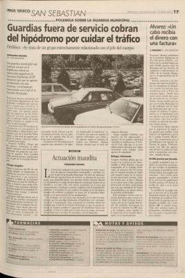 Ordóñez implica al jefe de la Guardia Municipal en un caso de corrupción
