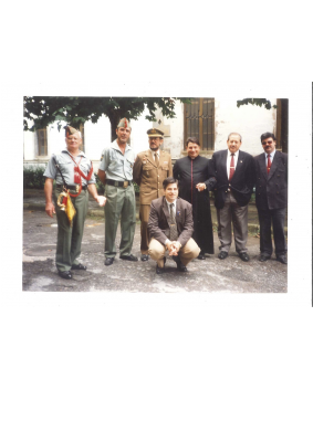Ordóñez acompaña a la Guardia Civil en Intxaurrondo