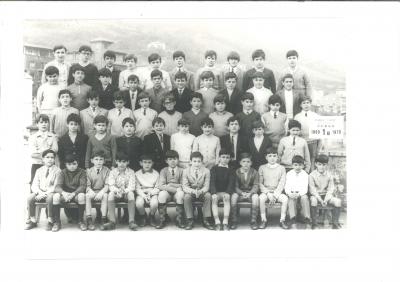 El curso 1969-1970 del Colegio Claret