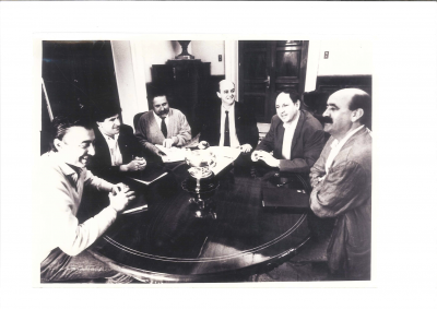 Los artífices del pacto de Gobierno de 1991
