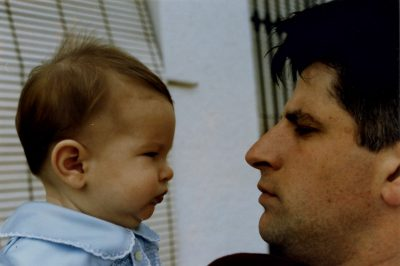 Cara a cara entre padre e hijo