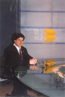 Ordóñez, entrevistado en la televisión francesa