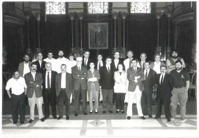 La corporación municipal de 1987