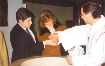 El bautizo de Javier