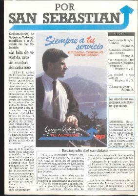 El periódico de la campaña de 1987