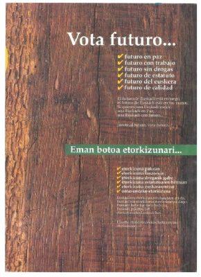 Propaganda electoral para aupar a Ordóñez al Parlamento