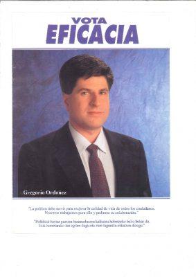 Ordóñez pone en valor su gestión y llama al voto por la eficacia