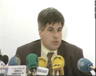 "Ordóñez: ""Me metí en política porque no me gustaba ver a mi tierra con un yugo"""