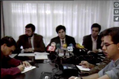 El PP de Guipúzcoa valora los resultados de las elecciones autonómicas de 1990
