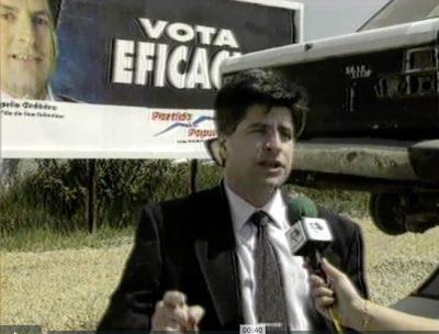 Ordóñez promete la construcción de aparcamientos si llega a la alcaldía