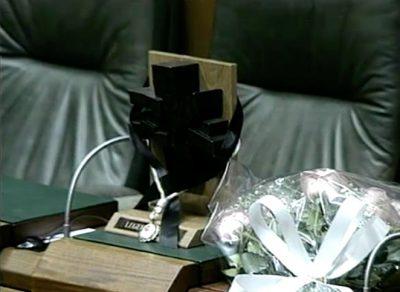El Parlamento vasco condena el crimen de Ordóñez con la ausencia de HB
